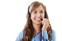 Call-Center-Betreiber Lizenzfreies Stockbild