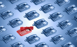Call Center Concept Royalty Free Stock Photos