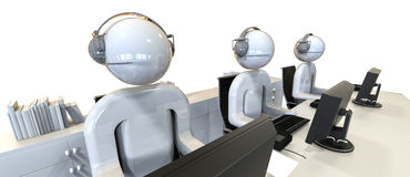Call Center concept Stock Images