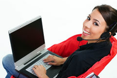 Call center-customer service Royalty Free Stock Photos