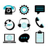Call center and customer service Royalty Free Stock Photo
