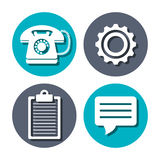 Call center and customer service Royalty Free Stock Photos