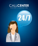 Call center design Stock Photography
