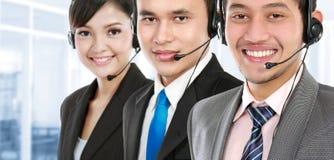 Call center employee Stock Photos