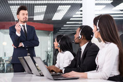 Call center Stock Photo
