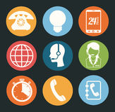 Call center ndesign Royalty Free Stock Photography