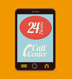 Call center ndesign Stock Images