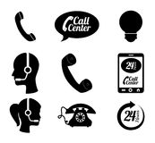 Call center ndesign Royalty Free Stock Image