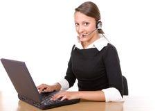 Call Center Operator Stock Photos