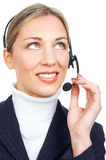 Call Center Operator Stock Photography