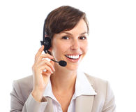 Call Center Operator Royalty Free Stock Images