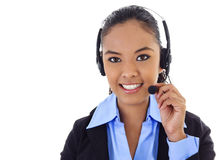 Call Center Operator Royalty Free Stock Photos
