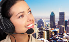 Free CALL CENTER OPERATOR Stock Images - 3523994