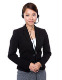 Call center operator Royalty Free Stock Photography