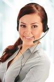 Call center operator. Customer support. Helpdesk Stock Photography