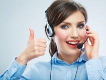 Call center operator. Stock Photos