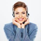 Call center operator. Stock Photography