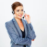 Call center operator. Royalty Free Stock Photos