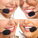 Call center operators Stock Photos