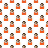 Call center pattern seamless. Best for any design Stock Photos