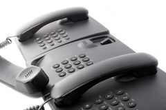 Call center phone service Royalty Free Stock Photos