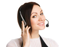 Call center professional Royalty Free Stock Photography