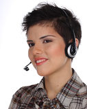 Call center representative Royalty Free Stock Images