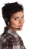Call center representative Stock Images
