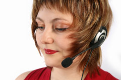 Call-Center representative Royalty Free Stock Photography