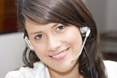 Call center representative Stock Photography