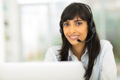 Call center representative Stock Photography