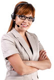 Call Center Representative Royalty Free Stock Image
