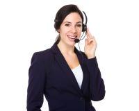 Call center representative Royalty Free Stock Photos