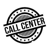 Call Center rubber stamp Stock Images