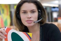 Call center secretary Stock Images