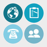 Call center service communication Royalty Free Stock Photos