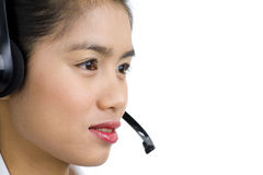 Call Center Staff Royalty Free Stock Photo