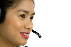 Call center staff stock images