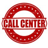 Call center. Stamp with text call center inside,  ilustration stock illustration