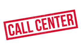 Call-Center-Stempel Lizenzfreie Stockfotos