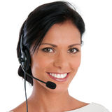 Call center support Stock Photography