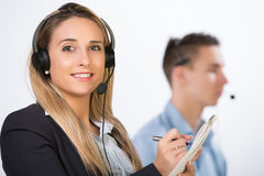 Call center Royalty Free Stock Images