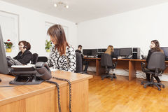 Call center support Royalty Free Stock Images