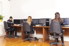 Call center support Royalty Free Stock Photo