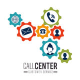 Call center and technical support Stock Photos