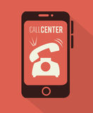 Call center and technical support Stock Image