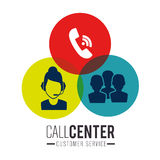Call center and technical support Royalty Free Stock Photography