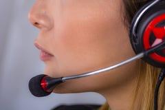 Call center, telefono Immagine Stock Libera da Diritti