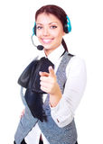 Call-center worker Stock Photography