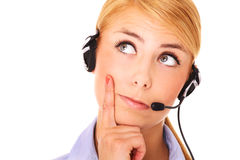 Call centre Royalty Free Stock Images
